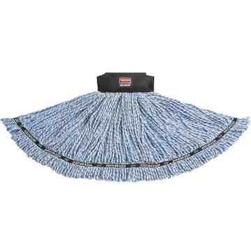 Maximizer Blend Mop Large - Blue, 6/EA