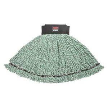 Maximizer Microfiber Mop Medium - Green, 6/EA