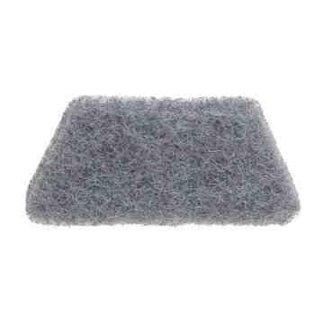Maximizer 3 in 1 Replacement Medium Scrubber Pad - Gray, 12/CS