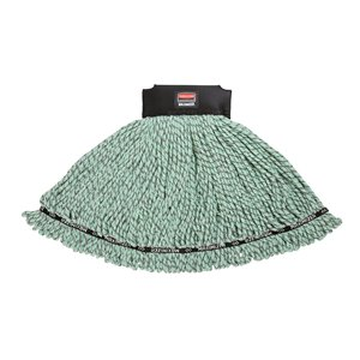 Maximizer Microfiber Mop Large - Green, 6/EA