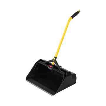"Maximizer HD Stand Up Debris Pan 20"" - Yellow/Black, 4/EA"