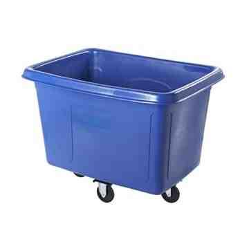 Cube Truck 300lb/8cuft - Blue, 1/EA