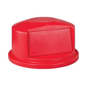 Duramold Brute Dome Top Fits 55G - Red, 1/EA