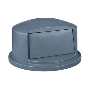 Duramold Brute Dome Top Fits 44G Container - Gray, 1/EA