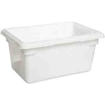 """Dur-x Food/Tote Box 18x12x9"""" - 5G - White, 6/EA"""