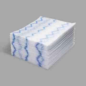 Disposable Microfiber Cloth Refill 640/cloths - White, 1/CS