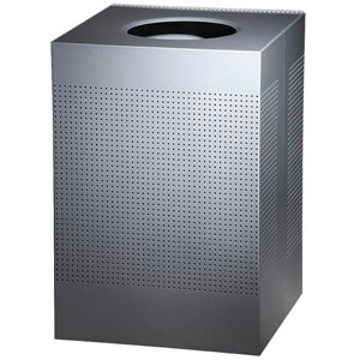 Designer Line Silhouttes - Square X-Large Waste Receptacle 40G ,  1 / EA
