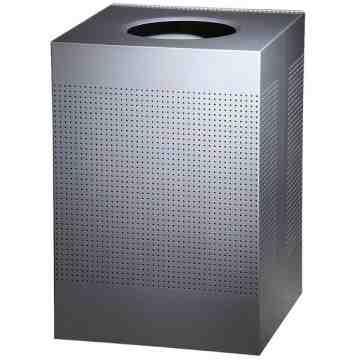Designer Line Silhouttes - Square Medium Waste Receptacle 24G ,  1 / EA