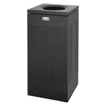 Designer Line Silhouttes - Square Medium Waste Receptacle 16G ,  1 / EA