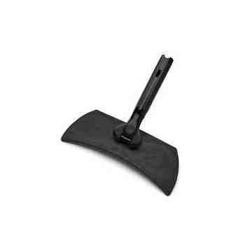"""Exec 11"""" Hygen Microfiber Flexible Frame-Black[Q855], 6/EA"""