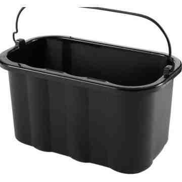 Executive 10 Quart Caddy, Black, 6/EA