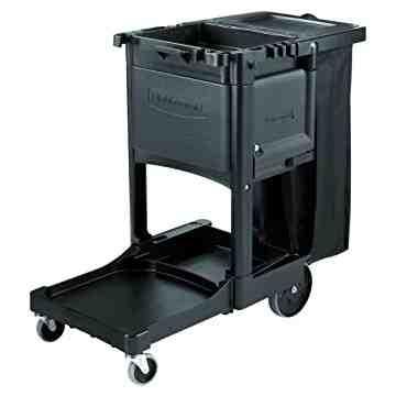 Executive Janitor Cart Locking Cabinet Door Kit Fits 1861430, 6173 - Black, 1/EA