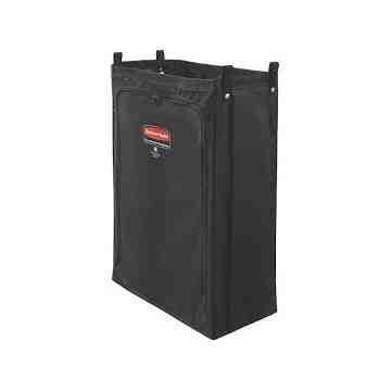 Executive Heavy-Duty Fabric Bag Long - Metal Housekeeping Carts[6188], 4/EA