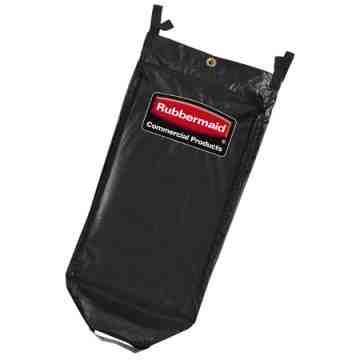 Executive 34G Janitorial Cleaning Cart Vinyl Bag - High Capacity - Black[1851454], 4/EA