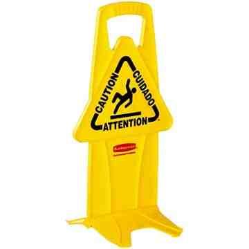 Stable Safety Sign - Eng/Fr/Sp, 6/EA