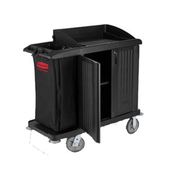 Compact X-tra HK Cart w/vinylbag/Bumpers - Black, 1/EA