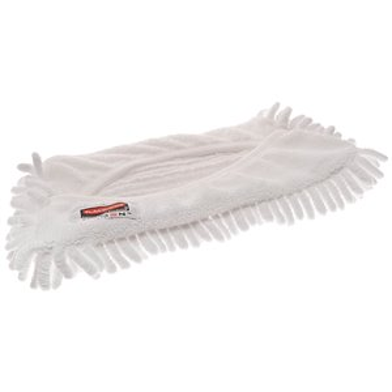 Microfiber Hygen Flexi Wet Mop Sleeve - White, 12/CS
