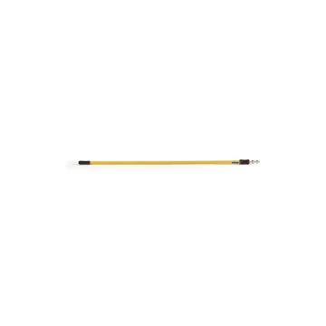 Microfiber Hygen QC Straight Ext. Handle 6'-12'- Yellow, 6/EA