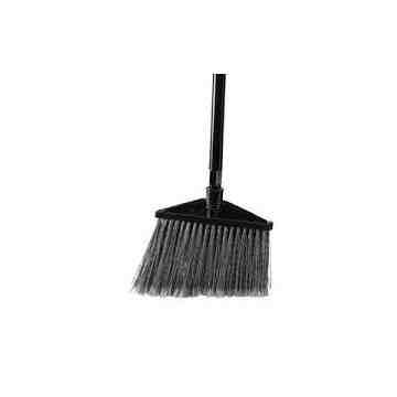Executive Angle Broom w/Vinyl Handle - Yel/Bla [6375], 6/EA