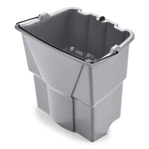 Executive Dirty Water Bucket for Wave Brake 18Qt - Gray[9C74], 6/EA