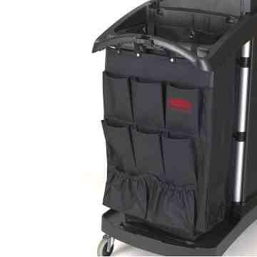 Exectuive 9-Pocket Fabric Organizer Cart Caddy, 6/EA