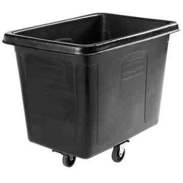 Exec Cube Truck 16 Cuft. w/Quiet Caster- Black[4616], 1/EA