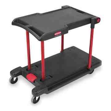 Convertible Cart - Cap 400lbs - Black, 1/EA