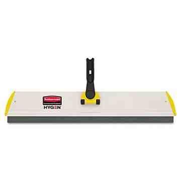 "Microfiber Hygen QC Dusting Frame w/Squeegee 24""-Yellow, 6/EA"