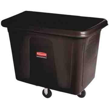 Cube Truck 500lb/16cuft - Black, 1/EA