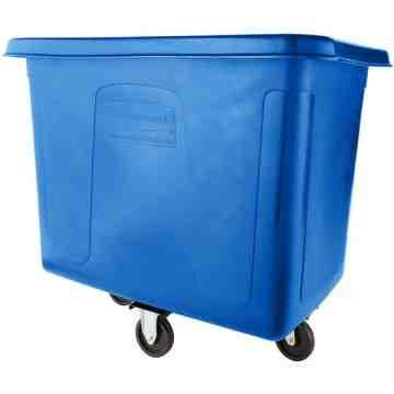 Cube Truck 500lb/16cuft - Blue, 1/EA