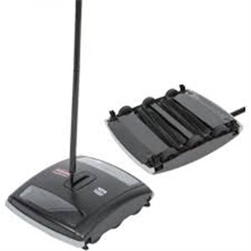 Executive Dual-Action Brushless Mechanical Sweeper - Black, 4/EA