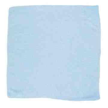 "LD Microfiber Cloth 16x 16"" - Blue[24/pk], 24/PK"