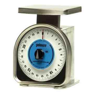 Mechanical Portion Control Scale 25lb 2oz, 6/EA
