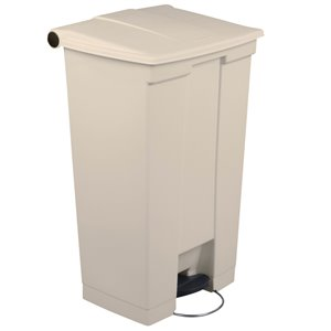 Mobile Step On Can Cap 23G - Beige, 1/EA