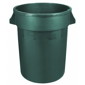 Brute Container Straightwall Unbrand 32G - Green, 6/EA