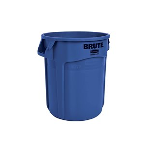 Brute Container Vented 10G - Blue [2610], 6/EA