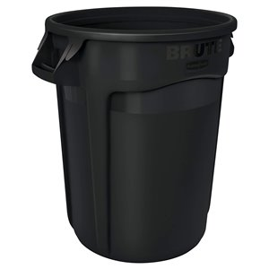 Brute Container Vented 32G - Black [2632], 6/EA