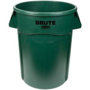 Brute Container Vented 44G - Dark Green [2643], 4/EA