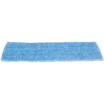 "Microfiber Standard Wet Pad 18"" - Blue, 12/CS - 1"