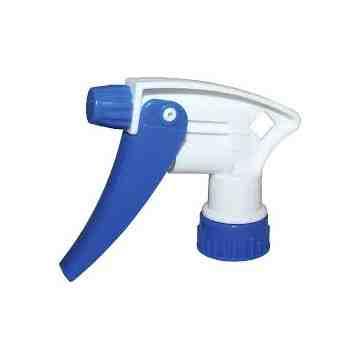 """Trigger Sprayer - Model 220 - 7 1/4"""" - Blue/White, 200 Units / Price Per EA"""