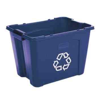 Recycling Box 14G - Blue, 6/EA