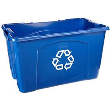 Recycling Box 18G - Blue, 6/EA