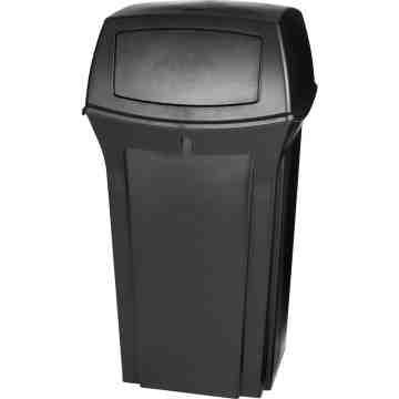 Ranger Container 35G w/ 2 Doors - Black, 1/EA