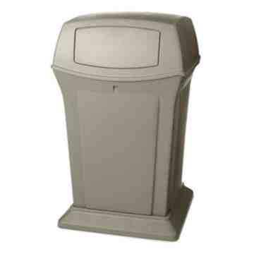 Ranger Container 45G w/ 2 Doors - Beige, 1/EA