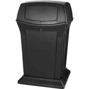 Ranger Container 45G w/ 2 Doors - Black, 1/EA