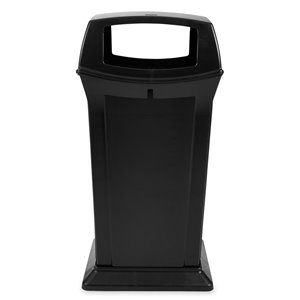 Ranger Container w/ 4 Openings 65G - Black, 1/EA