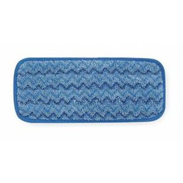 """Microfiber Hygen Scrubber Floor Pad 11"""" - Blue, 6/CS"""