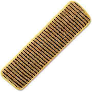 """Microfiber Hygen Scrubber Floor Pad 18"""" - Yellow, 6/CS"""