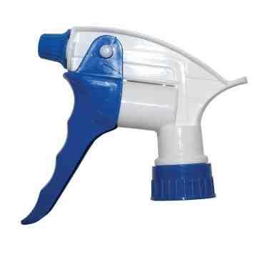 "Trigger Sprayer - Model 260 Valu-Blaster - 9 1/4"" - Blue/White, 200 Units / Price Per CS"