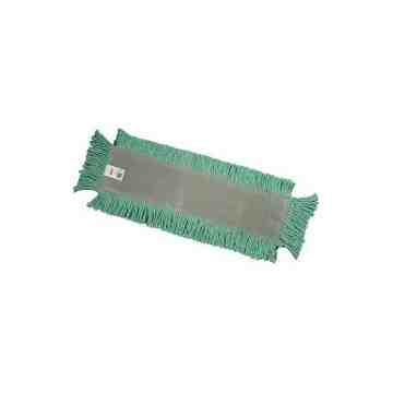 """Castaway Dust Mop 24"""" - Green, 12/EA"""
